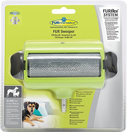 FURminator Pet Hair Remover Roller FURflex to Sweep Away and Trap Embedded Pet Hair 1