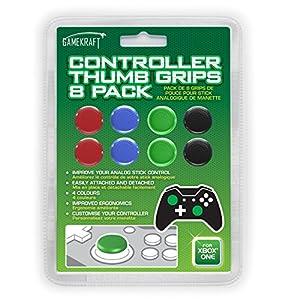 Gamekraft Analog-Controller Daumen-Grips 8er-Packung für Xbox One