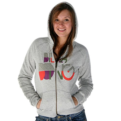 BILLABONG Noeli Reversible Grey Pullover Gr.S (Hoody Reversible Sweatshirts)