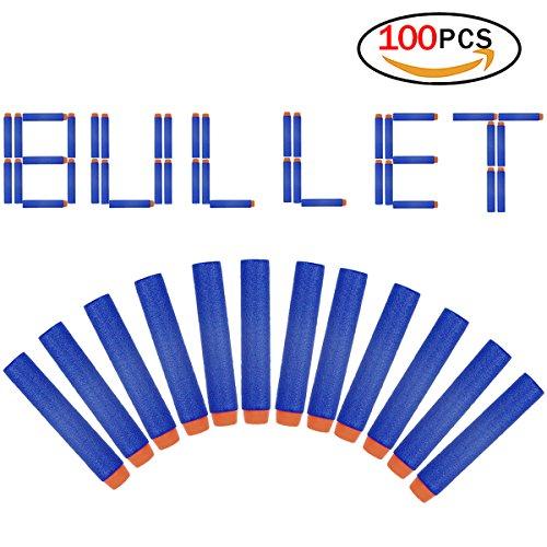 Soft foam darts refill bullet 100 pack per pistole n-strike universal mega pack firm safe nerf blaster serie elite