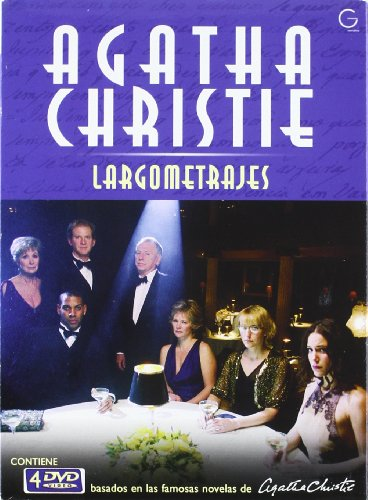 Sparkling Cyanide + Why Didn´t They Ask Evans? + The Seven Dials Mystery + The Pale Horse (PACK AGATHA CRISTIE (LARGOMETRAJES),