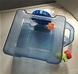 Benbroo Wasserkanister, 5 l/7,5 l/12 l/18 l/22 l, für den Außenbereich, für das Fahrzeug, Camping, Catering, in Lebensmittelqualität, 5L