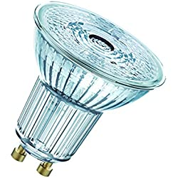 OSRAM Lot de 10 réflecteurs Spots LED | Culot GU10 | Blanc froid | 4000 K | 4,50 W équivalent 50 W | LED STAR PAR16