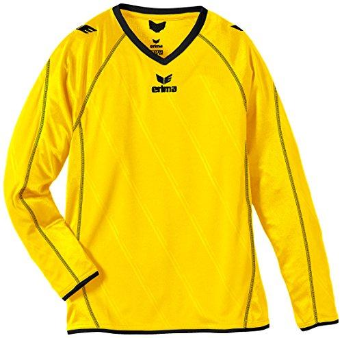 Erima Kinder Trikot Roma langarm, gelb/schwarz, 164, 314128