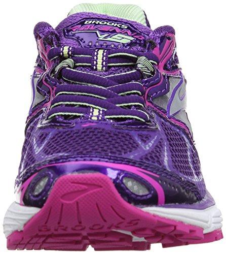 Brooks Ravenna, Chaussures de Running Entrainement Femme Violet (Purple/Fuchsia/Green)