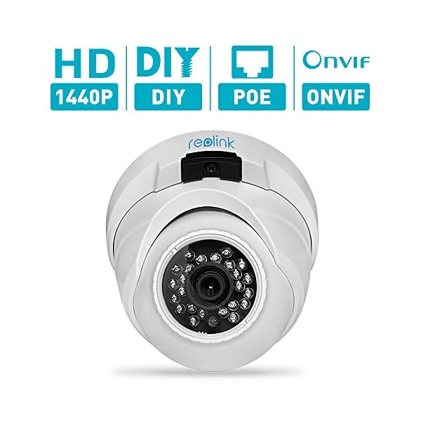 Reolink Group Two RLC410 4MP HD 2560(H)x1440(V) PoE Ip