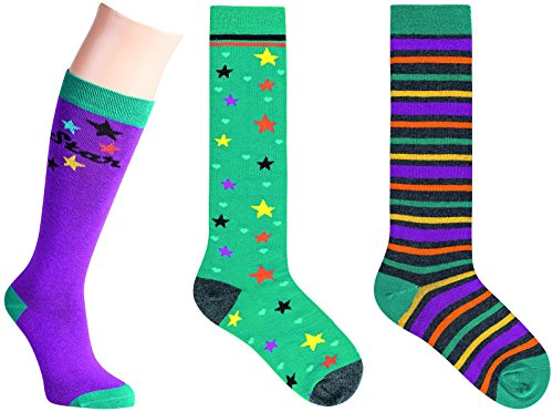 "SOCKS PUR KIDS KNIESTRUMPF ""STAR & TRUCK"" 3er PACK (27-30, STAR MIX)"