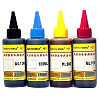 4 Colors 100ml Cartridge Refill Ink For All Printer Set