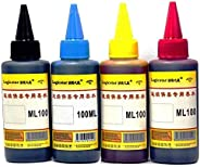 4 Colors 100ml Cartridge Refill Ink For Printers