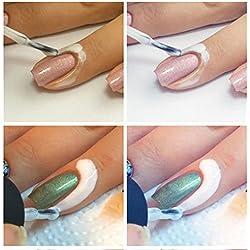 YAKO Pele clavo líquido cinta Peel Off capa Base uñas arte líquido Palisade - 15ml, color de rosa