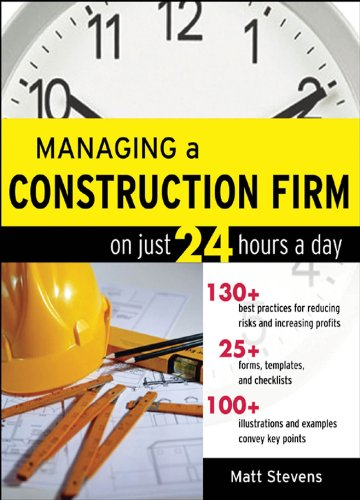 Managing a Construction Firm on Just 24 Hours a Day (English Edition)