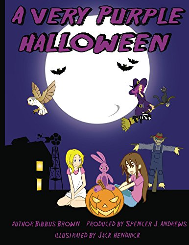 A Very Purple Halloween (The Adventures of Purple the Rabbit Book 1) (English Edition)