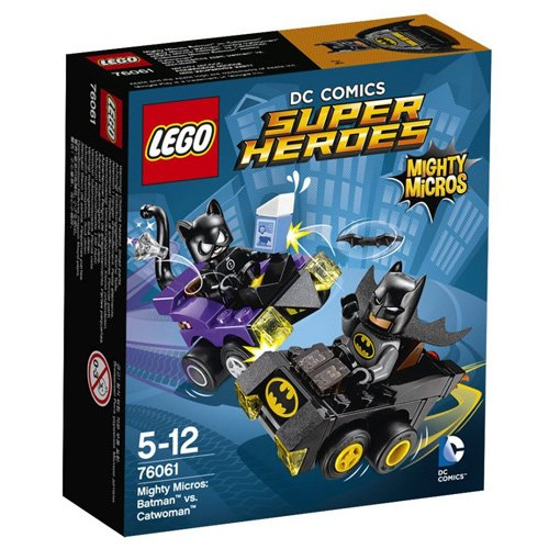 LEGO Super Heroes - Set Mighty Micros: Batman vs. Catwoman (76061)