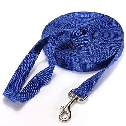 Katomi Dog Pet Puppy Training Obedience Lead Leash (1.5m*2cm, blue) 3