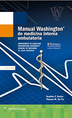 Manual Washington de medicina interna ambulatoria por Thomas M. De Fer