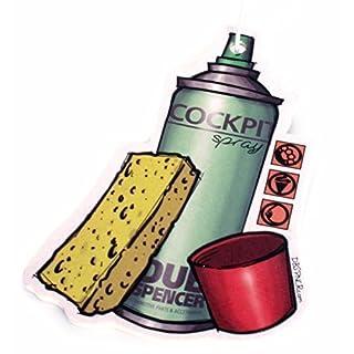 COCKPITSPRAY Duftbaum Air Freshener - NEW CAR, CITRUS, ERDBEERE - Fuzzy Dice JDM OEM DUB (Duft: Citrus)