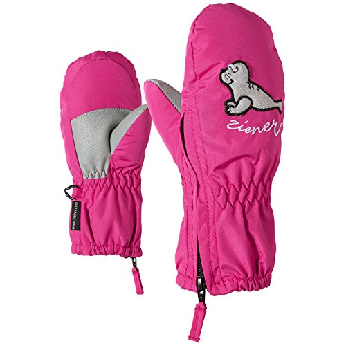 Ziener LE ZOO MINIS Handschuh, Unisex Kinder, Le Zoo Minis, Rosa (Pop Pink) (Unisex Mini Handschuh)