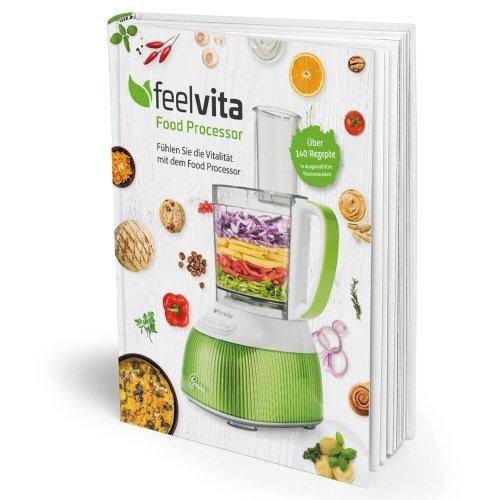 feelvita Genius Feelvita   Food Processor Rezeptbuch   Gesundheit & Vitalität   Ernährung   Fitness   NEU
