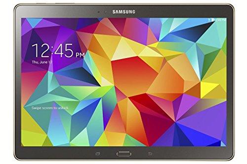 Samsung Galaxy Tab S SM-T805 Tablet (10.5 inches, 16GB, WiFi, 3G, 4G LTE, Voice Calling), Titanium Bronze