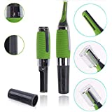 Generic Micro Precision Electric Built In Led Light Eyebrow Nose And Ear Trimmer L0052