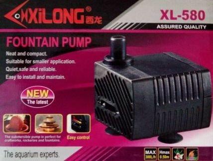 BOMBA SUMERGIBLE XL-580 3W 220V 300L/H