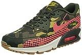 NIKE W Air Max 90 JCRD PRM Schuhe Damen Sneaker Turnschuhe Grün 807298 200, Größenauswahl:38.5