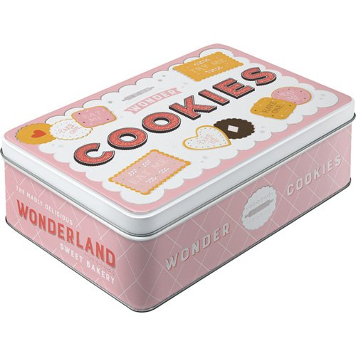Nostalgic-Art 30736 Home & Country - Wonder Cookies, Vorratsdose Flach