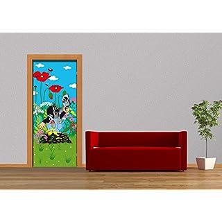 AG Design FTV 1532  Kleine Maulwurf, Papier Fototapete - 90x202 cm - 1 Teil, Papier, multicolor, 0,1 x 90 x 202 cm