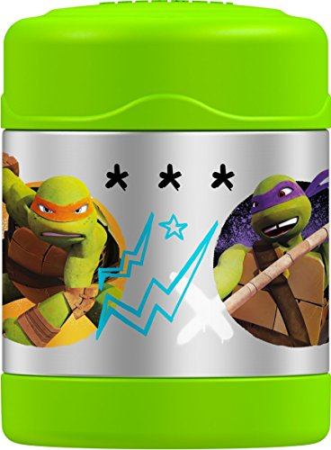 Price comparison product image Thermos Funtainer 10 Ounce Food Jar,  Teenage Mutant Ninja Turtles