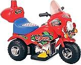 Moto elettrica MINI MOTO per bambini 6V CON LUCI E SUONI COLORE ROSSA