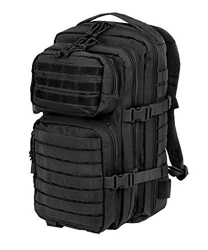 US Assault Pack I Outdoor Rucksack Schwarz