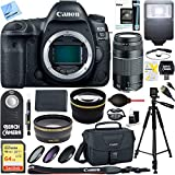 Canon EOS 5D Mark IV 30,4MP Full Frame CMOS DSLR Kamera (Body) & 75–300mm Objektiv Ultimate Bundle