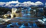 Olimpia Design Fototapete Photomural Wasserfall, 1 Stück, 1965P4