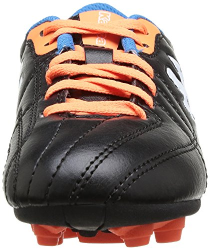 Kappa Soccer Player Fg Jungen Fußballschuhe Schwarz (Noir (905 Black))