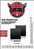 Blum - 2x Auto Displaytuch 30x30 cm schwarz - für die perfekte Reinigung von: Bildschirm | Display | Moniceiver | Touchpad | Touchscreen | Monitor | TV und vieles mehr im Fahrzeug Innenraum.