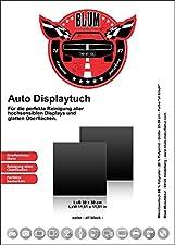 Blum - 2x 30x30 cm Chiffon de nettoyage de voiture - noir - Parfait pour le nettoyage de toutes les surfaces très sensibles & lisses dans la voiture