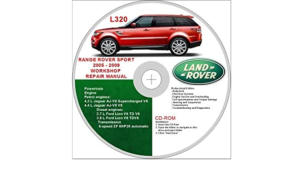 land rover range rover sport l320 2005 2009 workshop repair manual