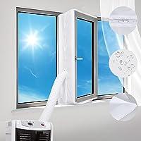 Joint de Fenetre Climatisation Tissus Calfeutrage Climatisation Mobile pour Fenêtres,400CM Tissu De Calfeutrage Kit…