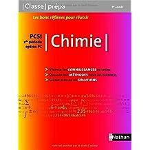 Chimie PCSI - 1ère année / 2de période Option PC