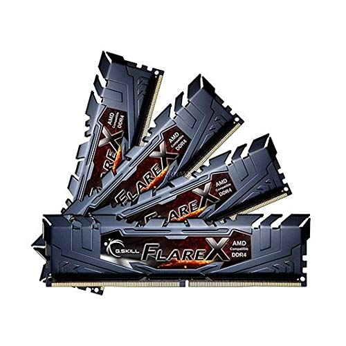 G.Skill Flare X 32GB DDR4 3200MHz Speichermodul, F4-3200C14Q-32GFX