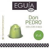 EGUIA -100 Cápsulas de Café compatibles con Nespresso - DON PEDRO