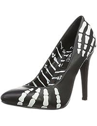 Iron FistChange Your Spots Platform Bootie - Zapatos con tacón mujer, color Amarillo, talla 36.5