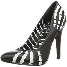 Iron Fist Women's Grave Robber Point Platform Heels, Black, UK 3, UK 3