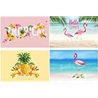 "'Bada Bing Lot de 4 set de table ""TROPICAL Flamingo 40263 été Soleil Trend Lot de 4"