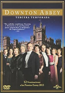 Downton Abbey - Temporada 3 [DVD] (B00FJ02UGI) | Amazon price tracker / tracking, Amazon price history charts, Amazon price watches, Amazon price drop alerts