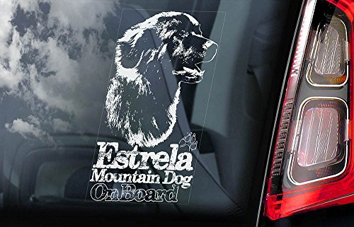 estrela-mountain-dog-car-window-sticker-dog-sign-internal-reverse-printed-v01