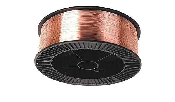 Mild Steel Mig Wire Spool Reel 0.8mm Welding Gas 5kg SUPER 6 SWP