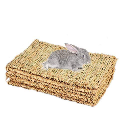 JVSISM Kaninchen Unterlage, Kaninchen Gras Matte, K?fig Sicher Und Essbare Kaninchen Unterlage, Kaninchen Kaninchen Spielzeug -