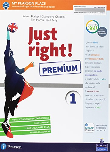 Just right! Ediz. premium. Per la Scuola media. Con e-book. Con espansione online: 1