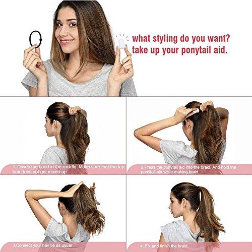 Ponytail Tools Ponytail Holders Hair Pony Tail Volume High Ponytail